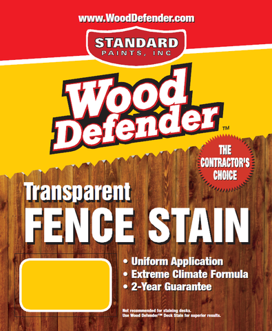 Transparent Fence Stains