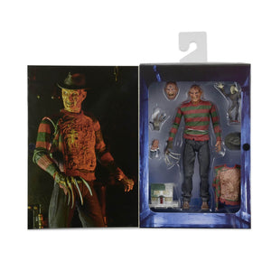 "A Nightmare On Elm Street - 7"" Scale Action Figure Ultimate Dream Warrior Freddy"