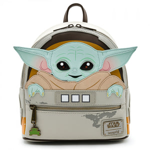 Star Wars - Loungefly The Mandalorian The Child Mini Backpack
