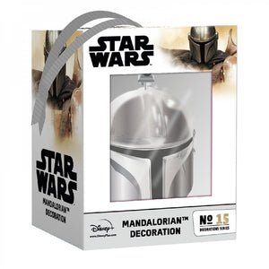 Star Wars - The Mandalorian Electroplated Decoration