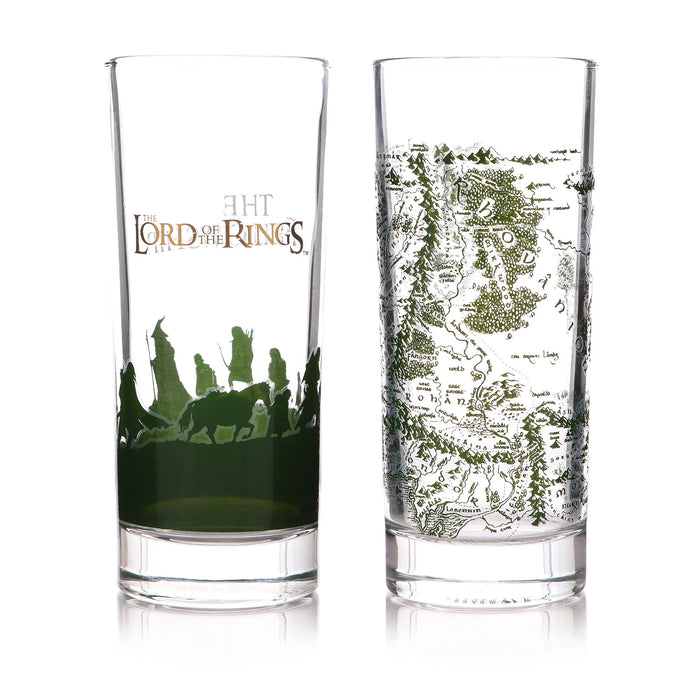 Lord of the Rings - Set of 2 Glasses