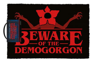 Stranger Things - Beware of the Demogorgon Doormat