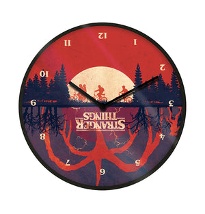 Stranger Things - Upside Down Clock