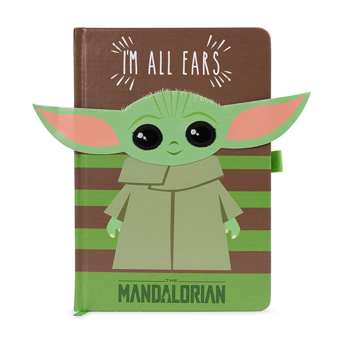 Star Wars - The Mandalorian (I'm All Ears Green) Premium A5 Notebook