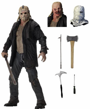 "Friday the 13th - NECA 7"" Scale Action Figure Ultimate Version Jason Voorhees"