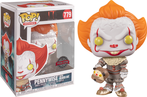 Pop! Movies: IT Chapter 2 Pop! Vinyl Figure - Pennywise With Beaver Hat