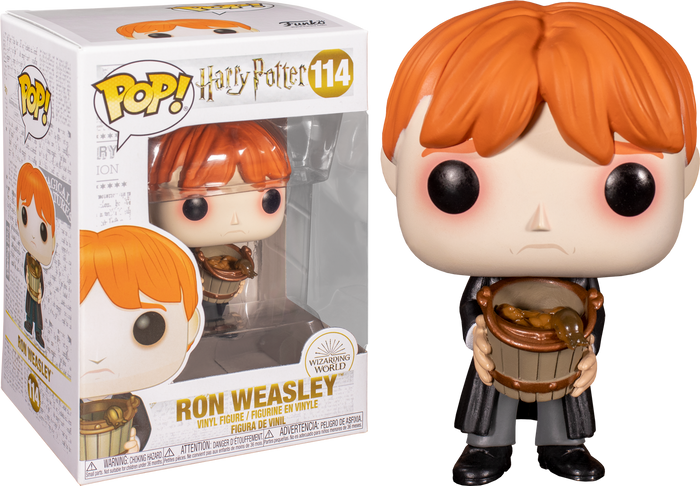 Pop! Movies: Harry Potter Pop! Vinyl Figure - Ron Puking Slugs w/Bucket