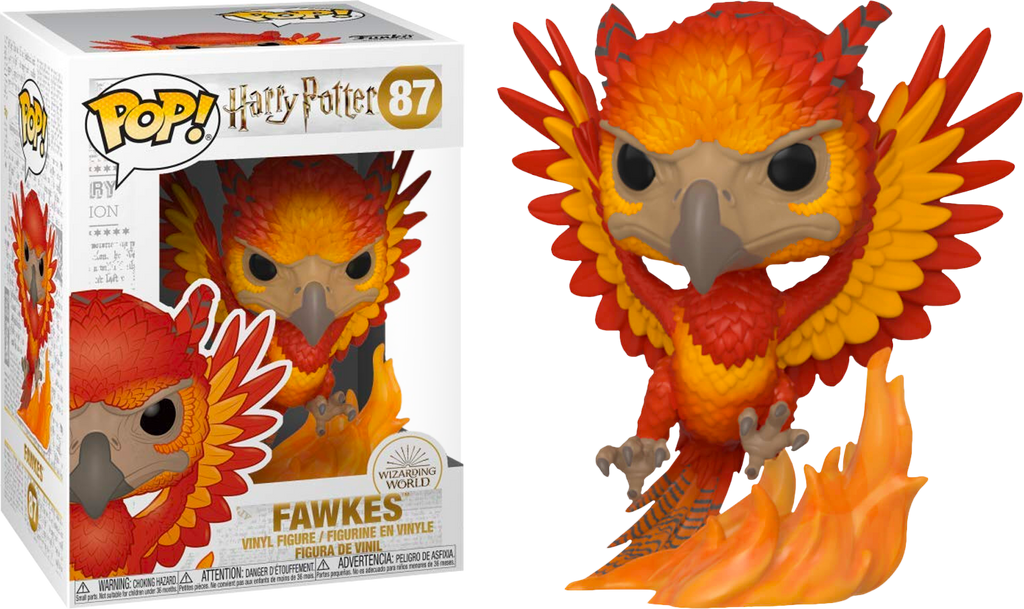 Pop! Movies: Harry Potter Pop! Vinyl Figure - Fawkes