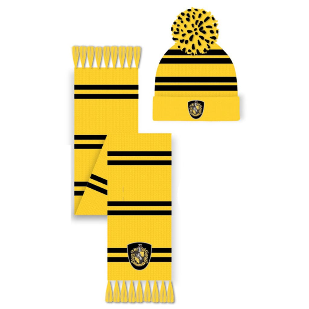 Harry Potter - Hufflepuff Hat and Scarf Set