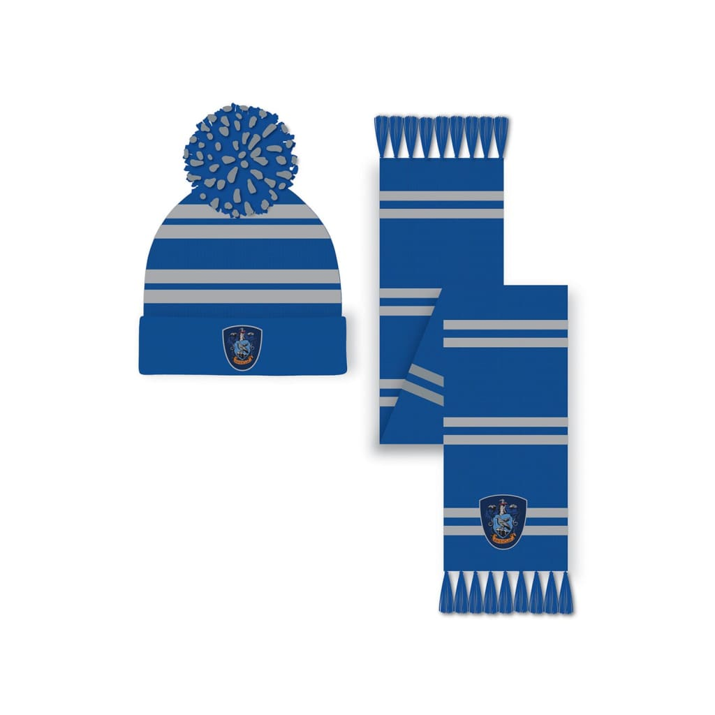 Harry Potter - Ravenclaw Hat and Scarf Set