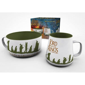 Lord of the Rings - Fellowship Breakfast Set