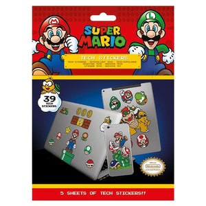 Nintendo - Super Mario Tech Stickers