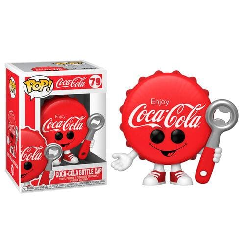Pop! Ad Icons: Coca-Cola Pop! Vinyl Figure - Cola Bottle Cap