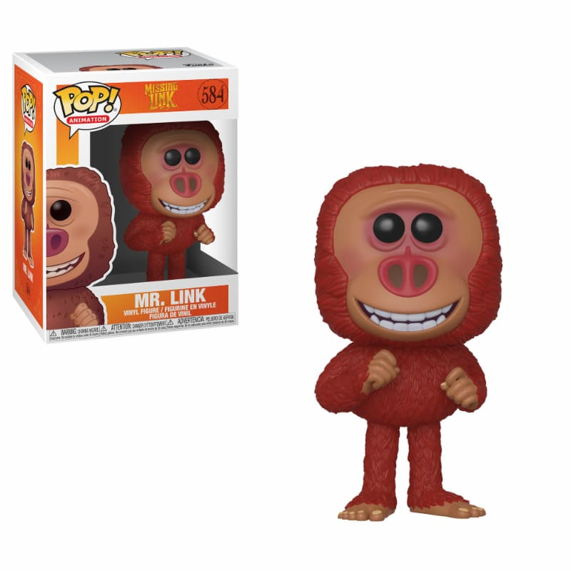 Pop! Animation: Missing Link Pop! Vinyl Figure - Link