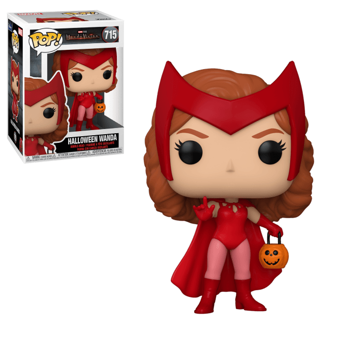 Pop! Marvel: WandaVision Pop! Vinyl Figure - Halloween Wanda
