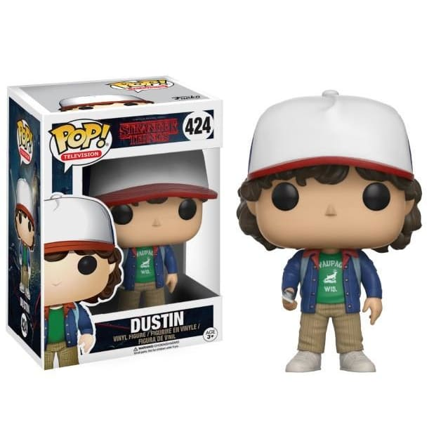 Pop! Television: Stranger Things Pop! Vinyl Figure - Dustin