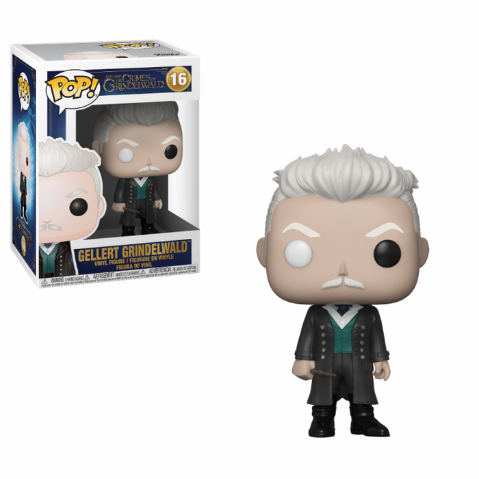 Pop! Movies: Fantastic Beasts 2 Pop! Vinyl Figure - Grindewald