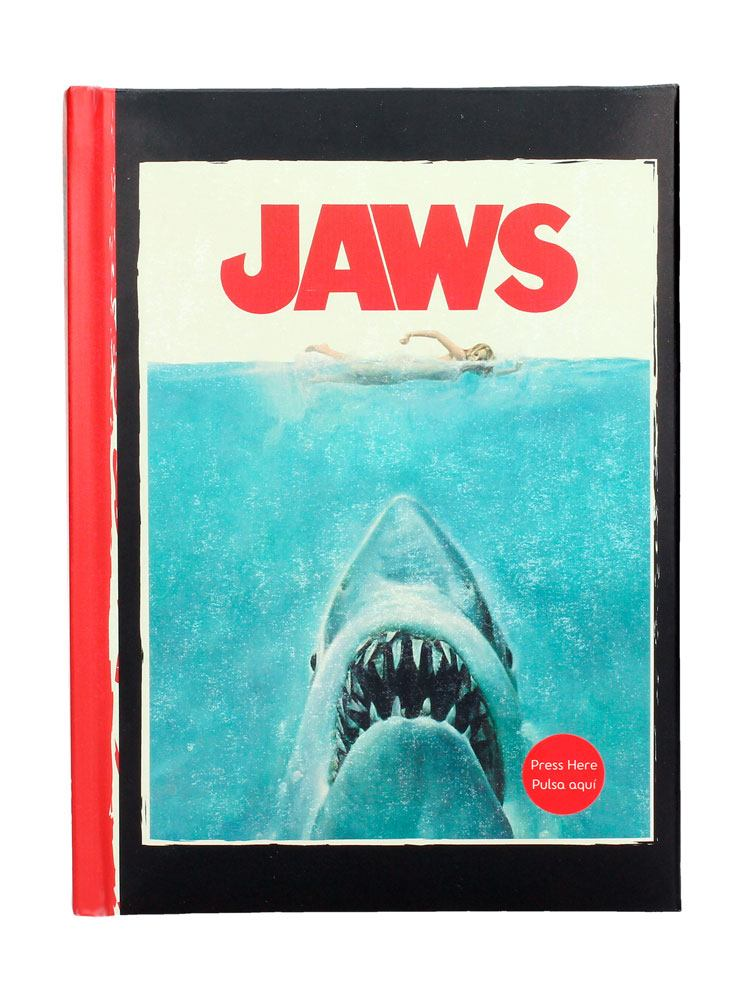 Jaws - Notebook with Light Poster