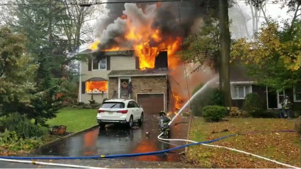 New Jersey Plane Crash: Plane crashes into house in Colonia NJ