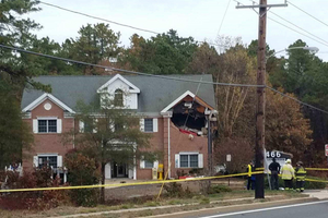 Porsche crashes into 2nd Floor of New Jersey Home