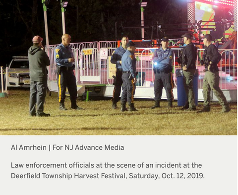 10 yr old girl dies on New Jersey Carnival Ride
