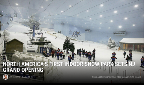 North America's First Indoor Snow Park in New Jersey
