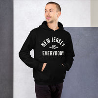 New Jersey Vs Everybody Black Unisex Hoodie