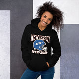 New Jersey Giants Black Unisex Hoodie