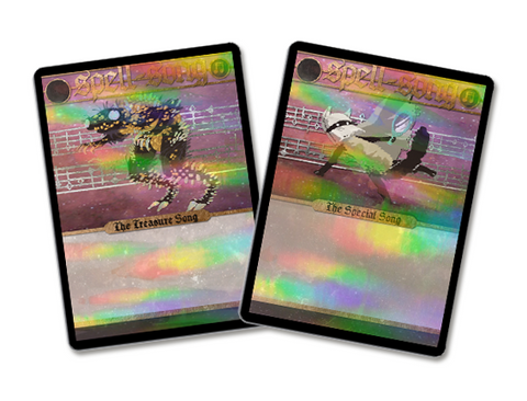 Holofoil International Shipping Cards