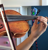 blue owl tuning violin