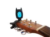 Black Bat Batman digital clip-on tuner guitar