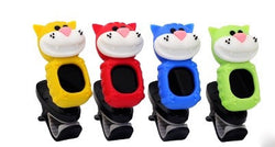 Cat digital clip-on tuners- yellow red blue green