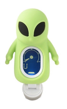 Green Alien Clip-on Digital tuner