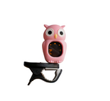 Pink Owl Digital Clip-On Tuner