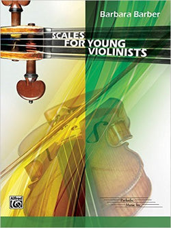 Scales for Young Violinists, Barbara Barber