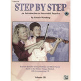 Step by Step for Violin, Suzuki Method Vol 3B