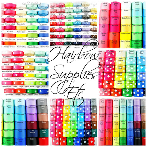 hairbow supplies etc coupon code