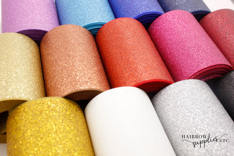 20% OFF - 3 inch Glitter Ribbon