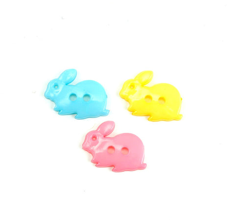 75% OFF Easter Bunny Buttons