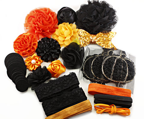 30% OFF Jack O Lantern Halloween Headband Kit