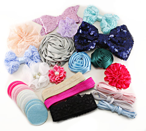 20% OFF Headband Kit - Baby Shower Station Kit - Beauty