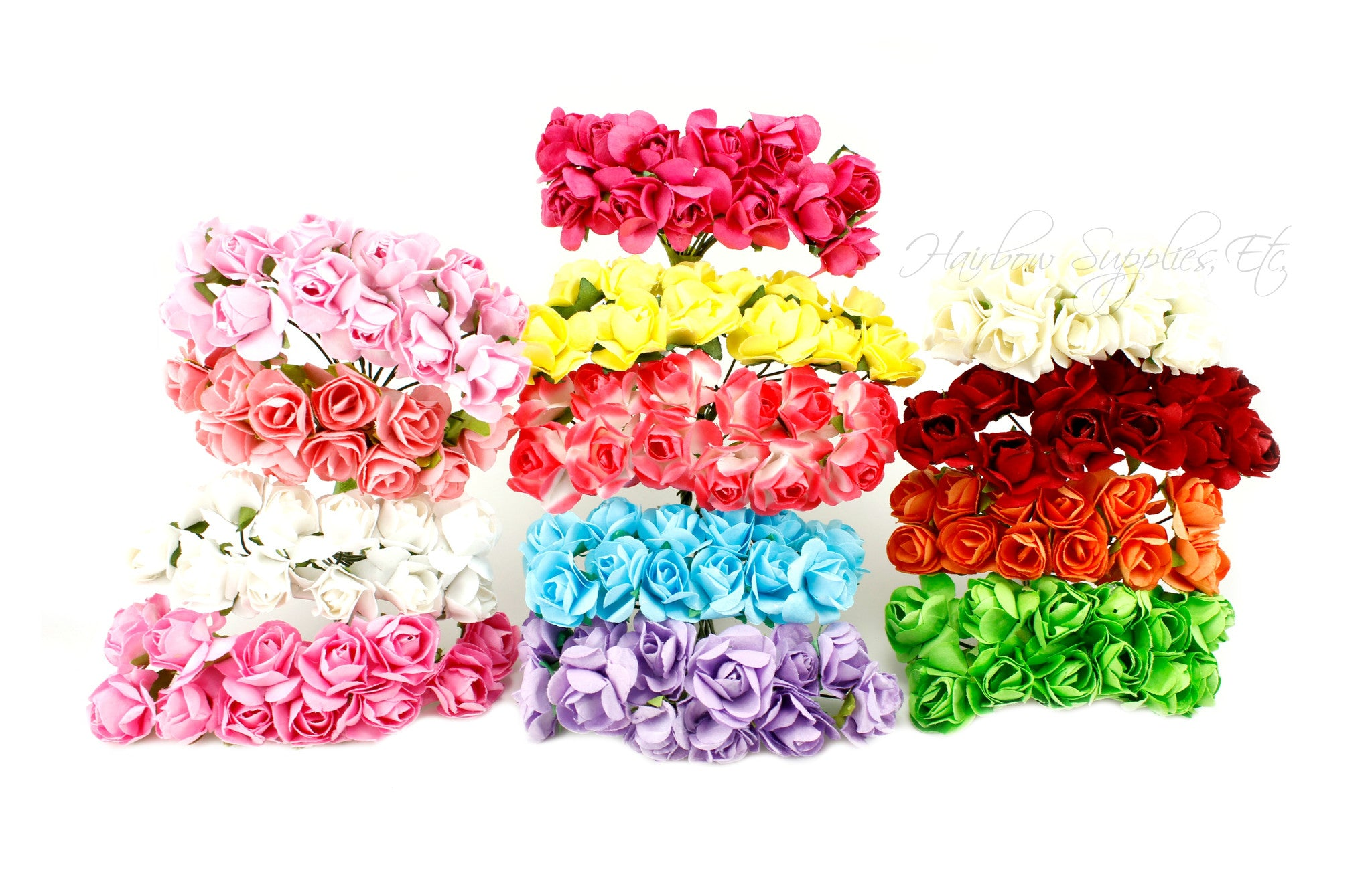 Paper flowers 3/4 inch