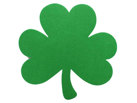 90% OFF 1 inch Felt Shamrock Shapes - Set of 10