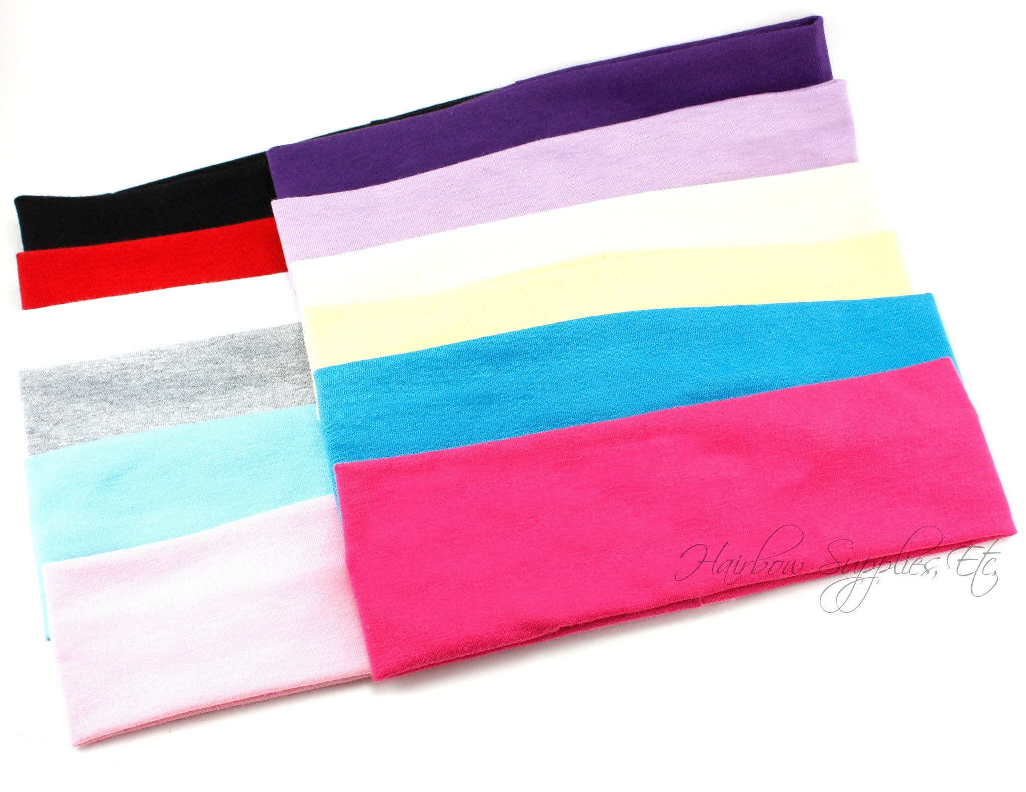 Soft cotton headwraps 2 inch