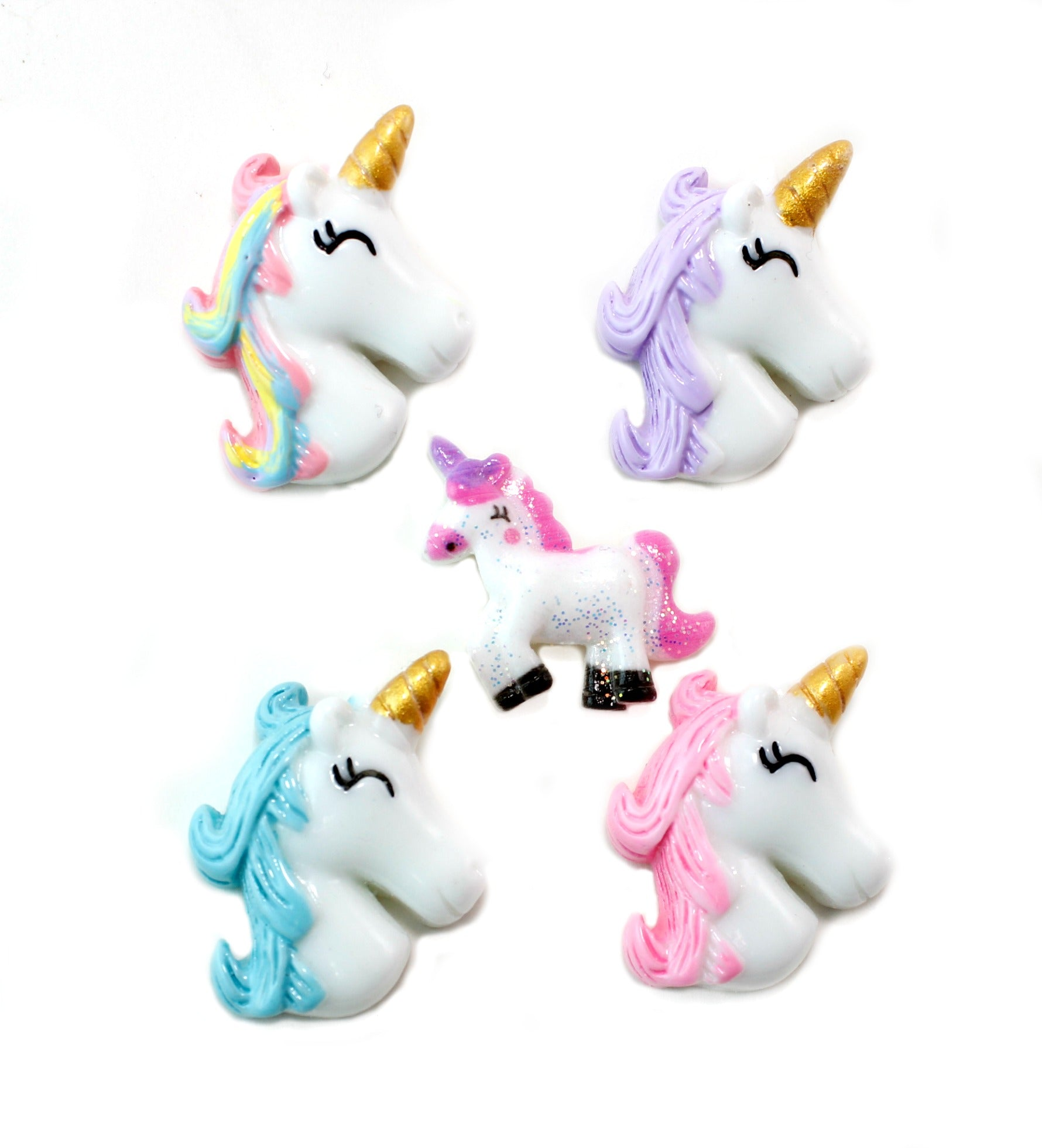 75% OFF Unicorn Resin - Unicorn Head and Pink Unicorn
