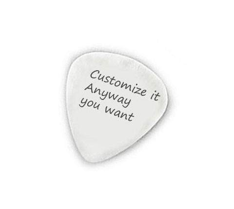 Hand Stamped Guitar Picks
