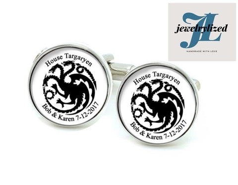 Game of Thrones Photo Cufflinks, Jewelrylized