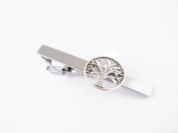 Tree Tie Bar, Tree of Life Tie Clip - Jewelrylized  - 1