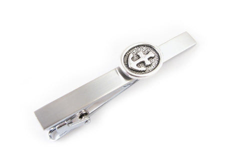 Anchor Tie Bar, Stainless Steel Tie Clip - Jewelrylized  - 1