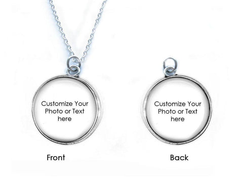 Custom 2 Side Necklace, Make it anyway you want Pendant - Jewelrylized